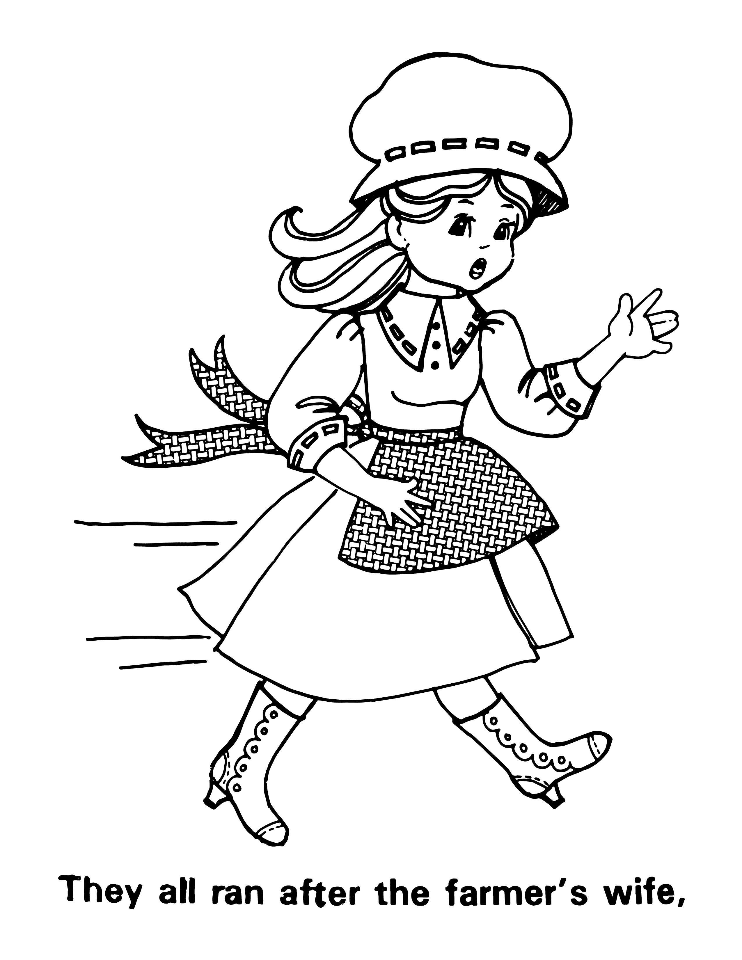 Free Coloring Page Of Kids Dancing - Coloring Home | 3300x2550
