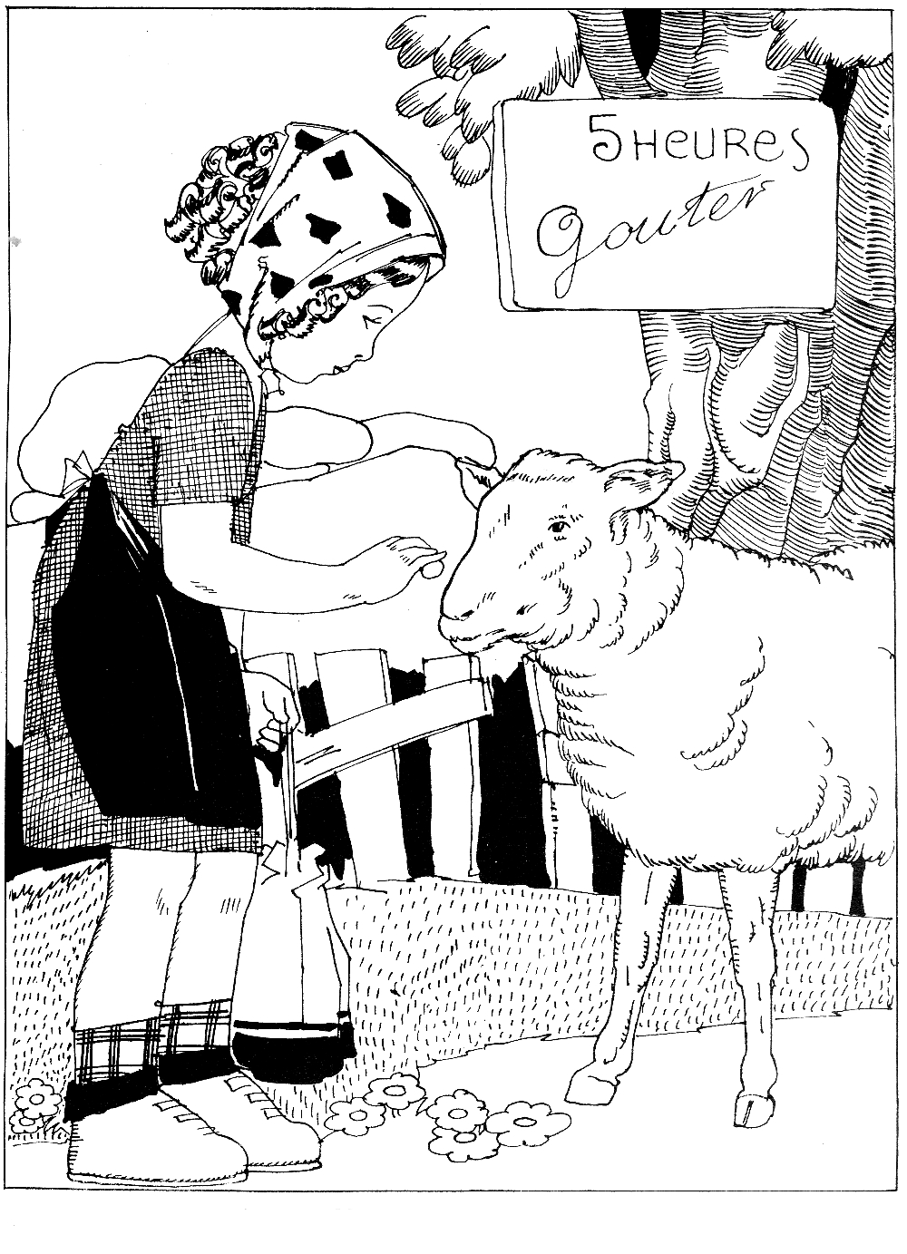 Top 25 Free Printable Sheep Coloring Pages Online | 1383x1000